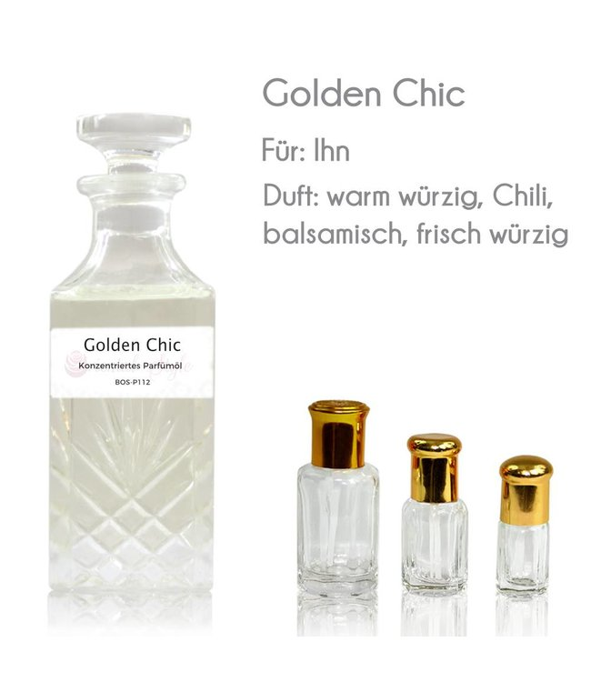 Golden Chic Parfümöl - Parfüm ohne Alkohol