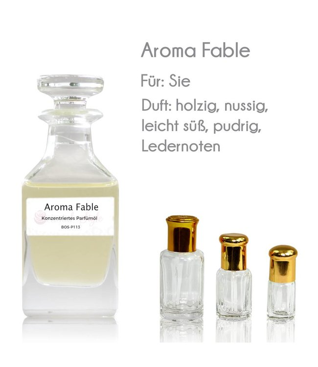 Concentrated perfume oil Aroma Fable Perfume Free From alcohol