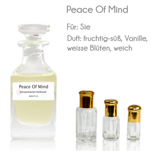 Oriental-Style Perfume Oil Peace Of Mind