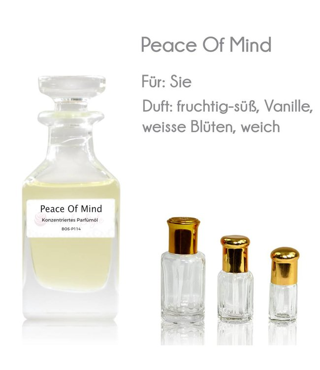 Concentrated perfume oil Peace Of Mind Perfume Free From alcohol