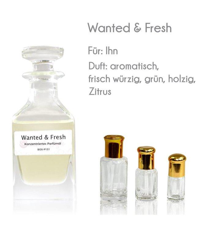 Wanted & Fresh Parfümöl - Parfüm ohne Alkohol