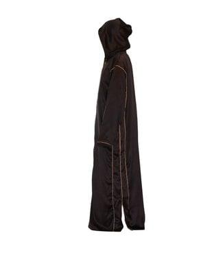 Moroccan Arabic Galabiya Thobe - Dark Brown