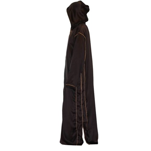 Moroccan Arabic Galabiya Thobe - Dark Brown