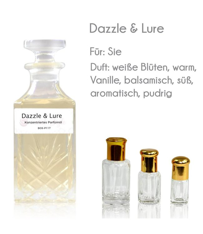 Concentrated perfume oil Dazzle & Lure Perfume Free From alcohol
