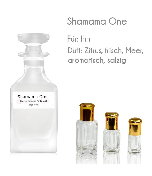 Concentrated perfume oil Shamama One Perfume Free From alcohol