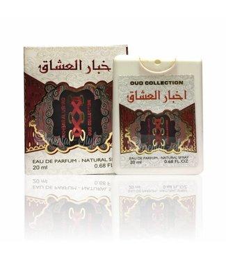 Ard Al Zaafaran Perfumes  Akhbar Al Ushaq Pocket Spray 20ml