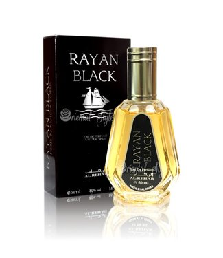 Al Rehab  Rayan Black  Eau de Parfum 50ml Al Rehab Vaporisateur/Spray