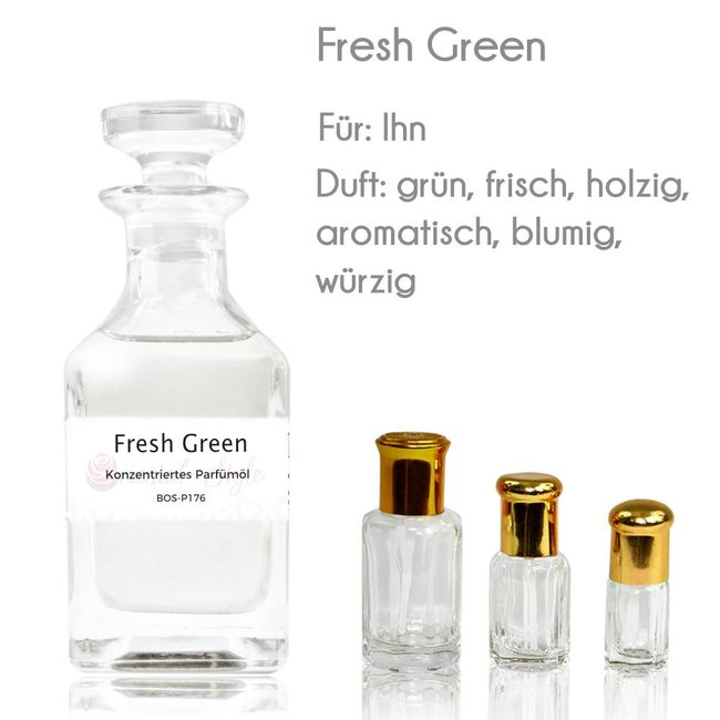 Oriental-Style Perfume Oil Fresh Green