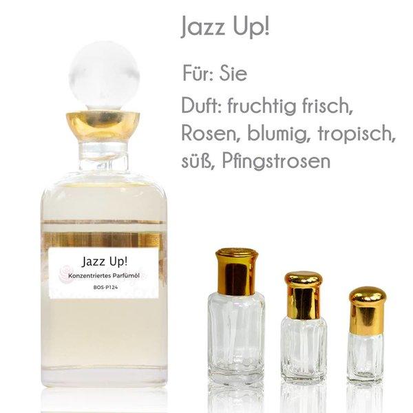 Oriental-Style Jazz Up! Parfümöl - Parfüm ohne Alkohol