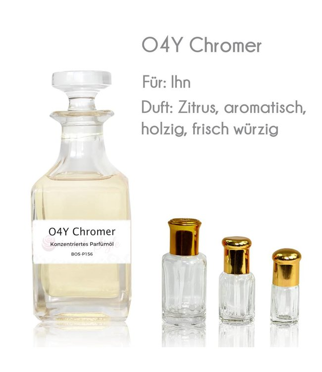 Concentrated perfume oil O4Y Chromer Perfume Free From alcohol