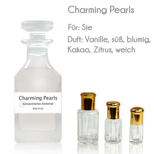 Charming Pearls Parfümöl Attar - Parfüm ohne Alkohol