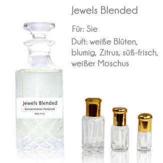 Oriental-Style Perfume Oil Jewels Blended