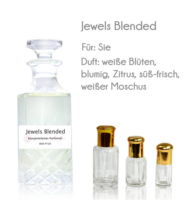 Concentrated perfume oil Jewels Blended Perfume Free From Alcohol