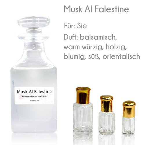 Oriental-Style Parfümöl Musk Al Falestine