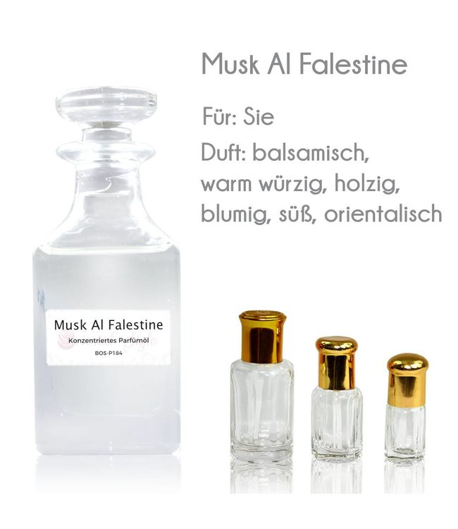 Concentrated perfume oil Musk Al Falestine Perfume Free From Alcohol