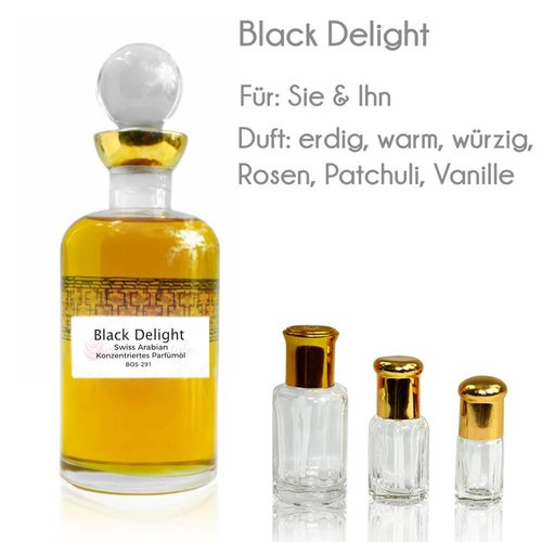 Swiss Arabian Perfume oil Black Delight