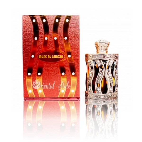 Al Haramain Concentrated perfume oil Musk Al Ghazal 30ml - Perfume free from alcohol