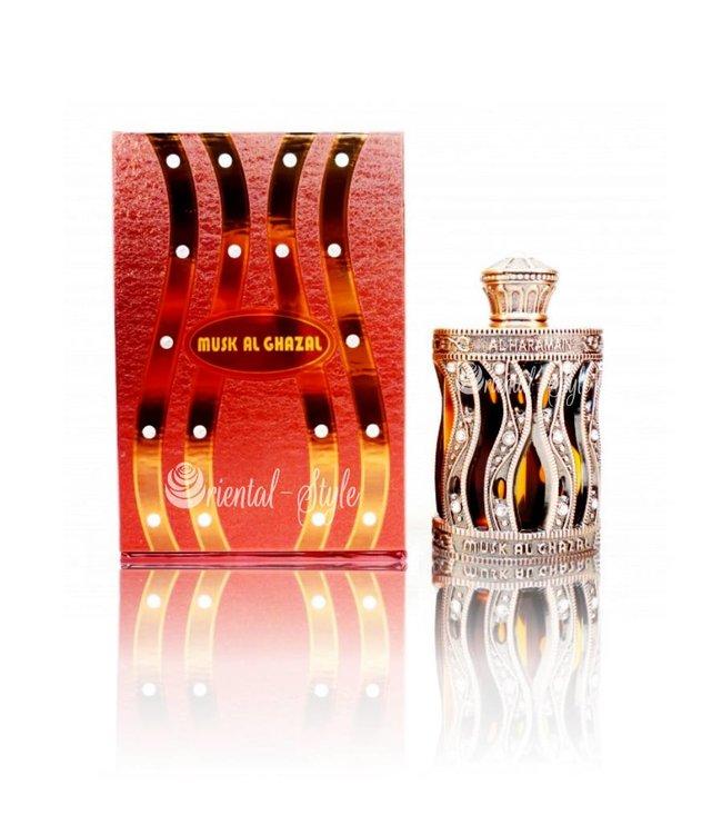 Al Haramain Musk Al Ghazal 30ml - Parfüm ohne Alkohol