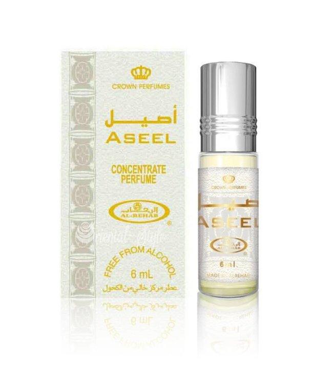 Al Rehab  Aseel Perfume Oil by Al Rehab - Free From Alcohol