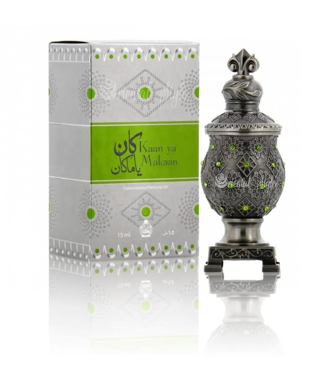 Afnan Concentrated Perfume Oil Kaan Ya Makaan - Perfume free from alcohol