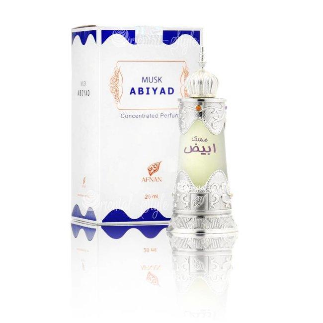 Afnan Perfume Oil Musk Abiyad 20ml