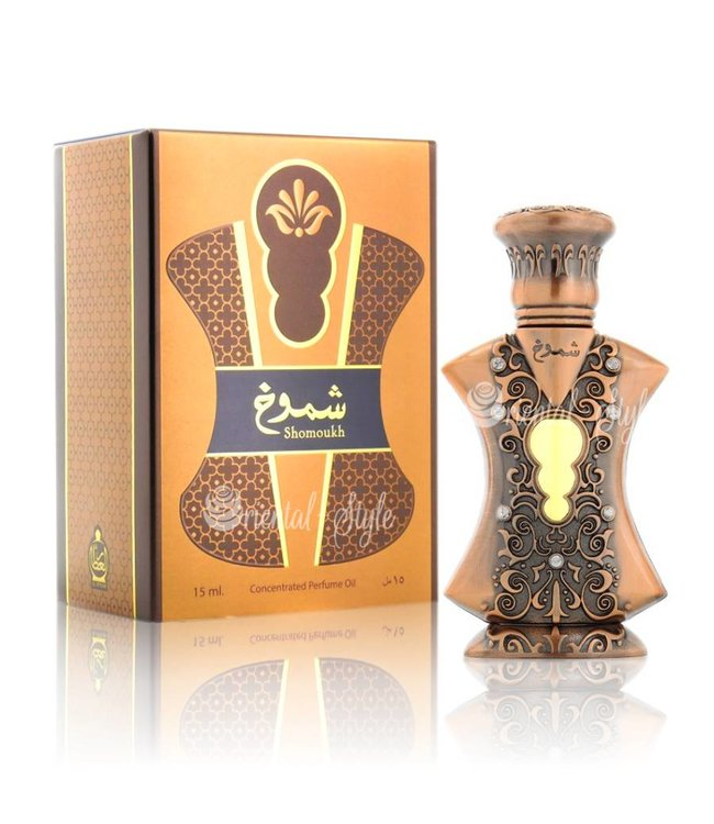 Afnan Concentrated Perfume Oil Shomoukh  - Perfume free from alcohol