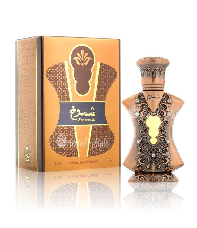 Afnan Konzentriertes Parfümöl Shomoukh  - Parfüm ohne Alkohol