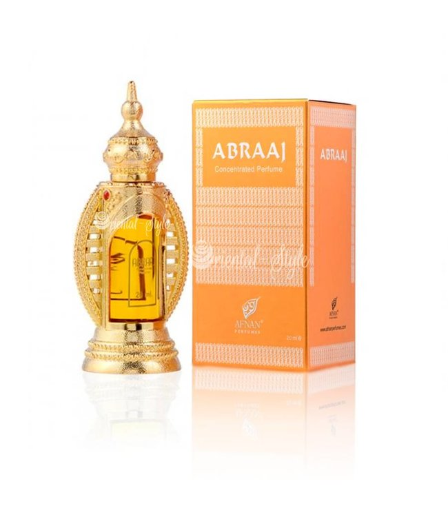 Afnan Concentrated Perfume Oil Abraaj  - Perfume free from alcohol