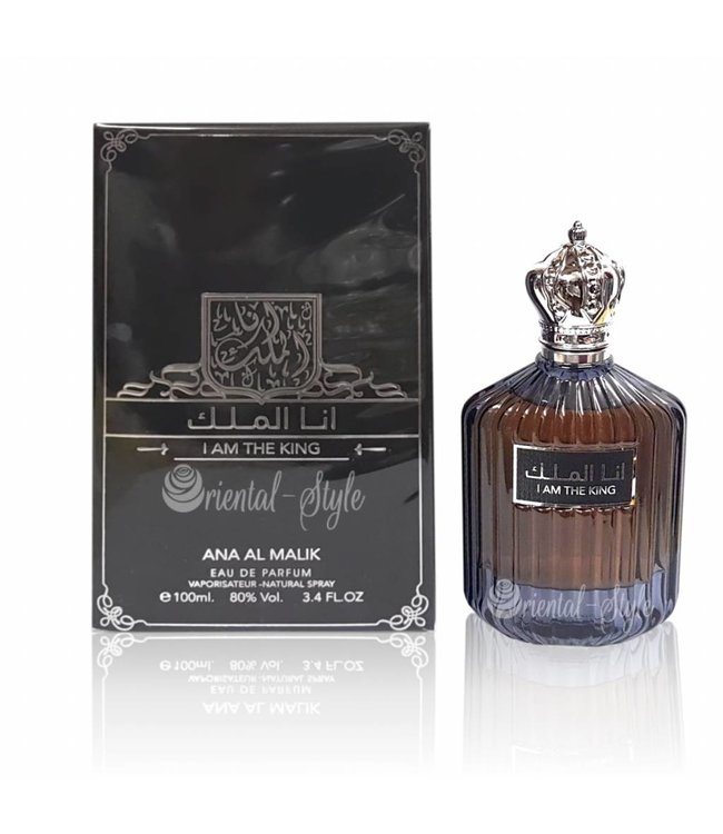 Ard Al Zaafaran Perfumes  I Am The King Eau de Parfum 100ml Perfume Spray