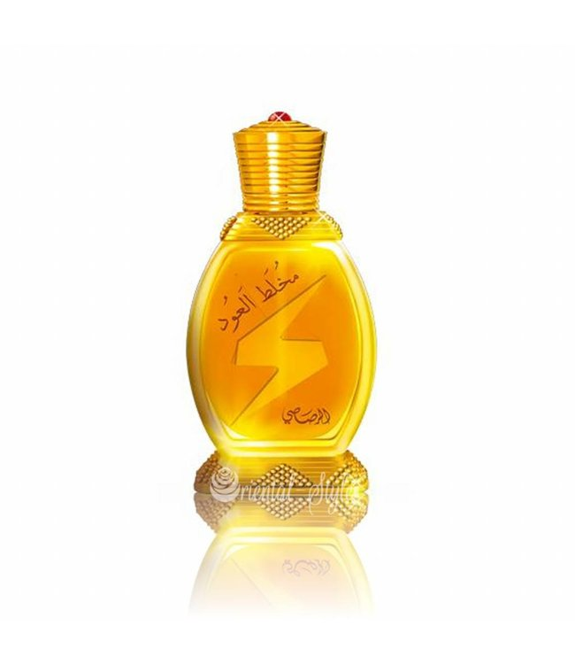 Rasasi Concentrated perfume oil Mukhallat Al Oudh 20ml - Perfume free from alcohol