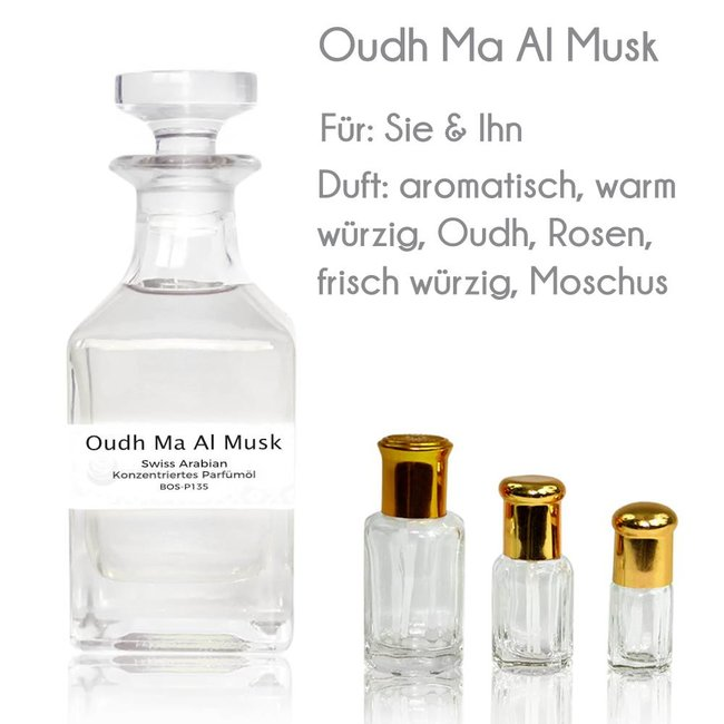 Oriental-Style Parfümöl Oudh Ma Al Musk