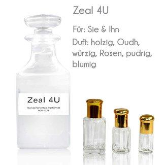 Oriental-Style Perfume Oil Zeal 4U