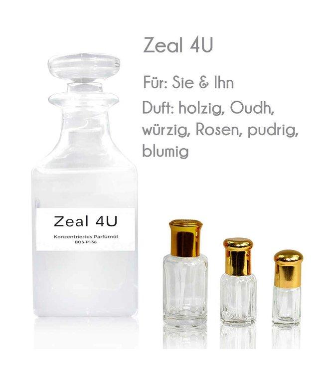Zeal 4U Parfümöl - Parfüm ohne Alkohol