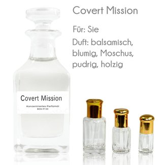Oriental-Style Perfume Oil Covert Mission