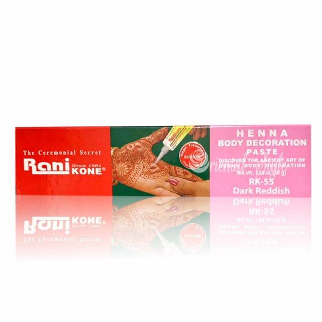 edcb01660 Henna paste tube for tattoos Rani - Oriental-Style