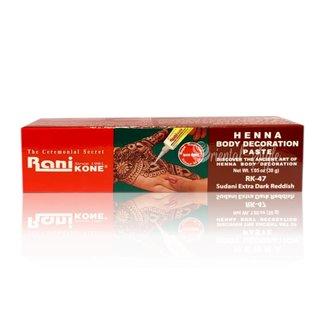 Rani - Kone Henna-Paste Dunkelrot (30g)