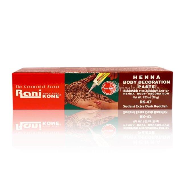 Rani - Kone Henna Paste Dark Red (30)