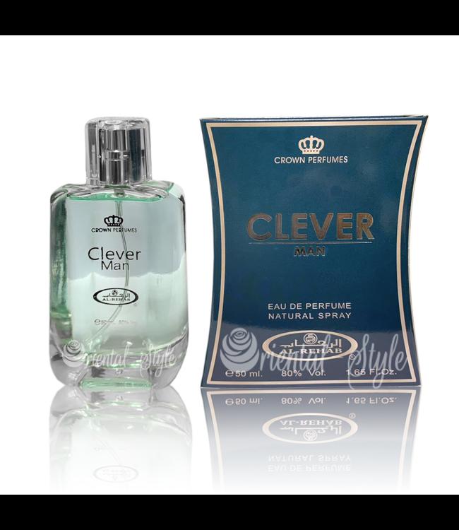 Al Rehab  Clever Man Eau de Parfum 50ml Al Rehab Perfume Spray
