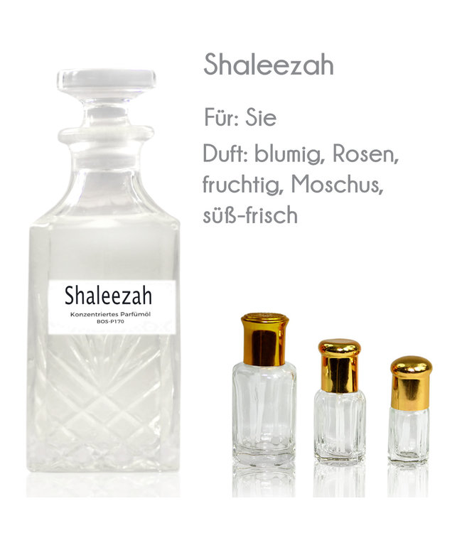 Concentrated perfume oil Shaleezah Perfume Free From alcohol