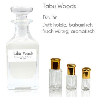 Oriental-Style Perfume Oil Tabu Woods