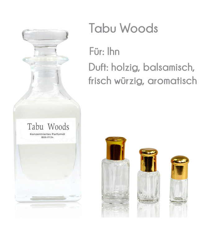 Concentrated perfume oil Tabu Woods Perfume Free From alcohol