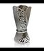 Mubkara - Räuchergefäß Keramik Silber