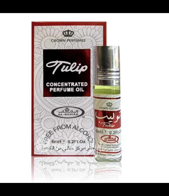 Al Rehab  Concentrated Perfume Oil Tulip 6ml