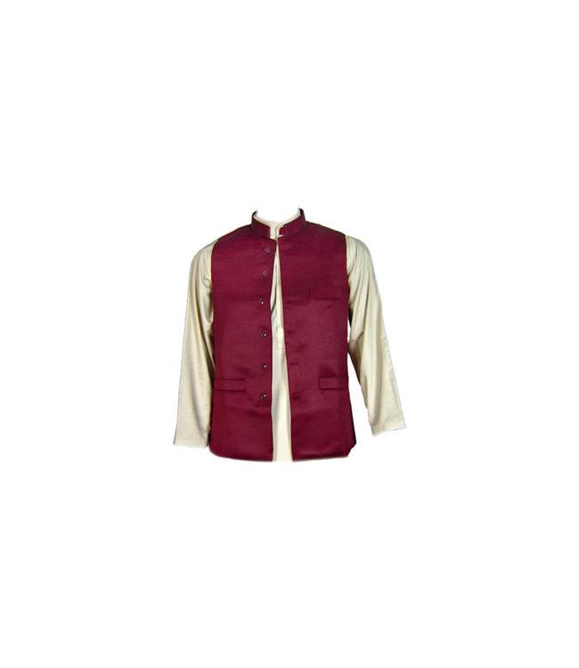 Vest - Dark Red