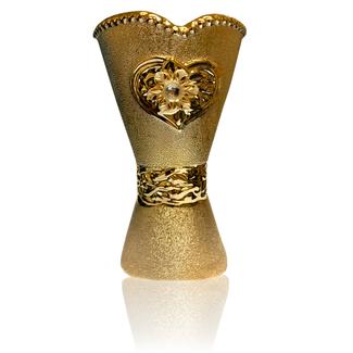 Mubkara - Räuchergefäß Keramik Gold