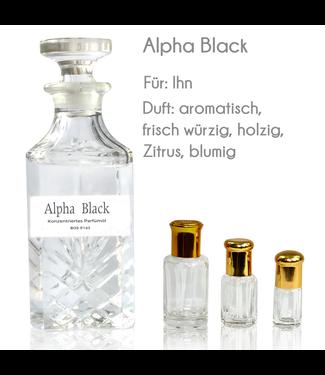 Sultan Essancy Perfume Oil Alpha Black