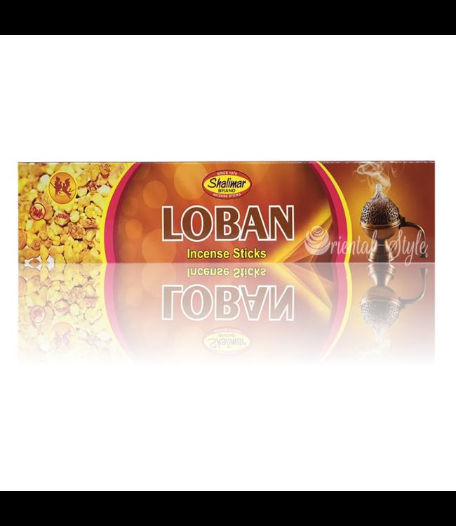 Shalimar Räucherstäbchen Loban - Weihrauch (20g)