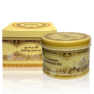 Al Haramain Bakhoor Oudh Hindi Ma'Al Attar (50g)