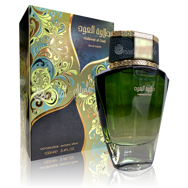 Swiss Arabian Halawat Al Oud Eau de Parfum 100ml Swiss Arabian Perfume Spray