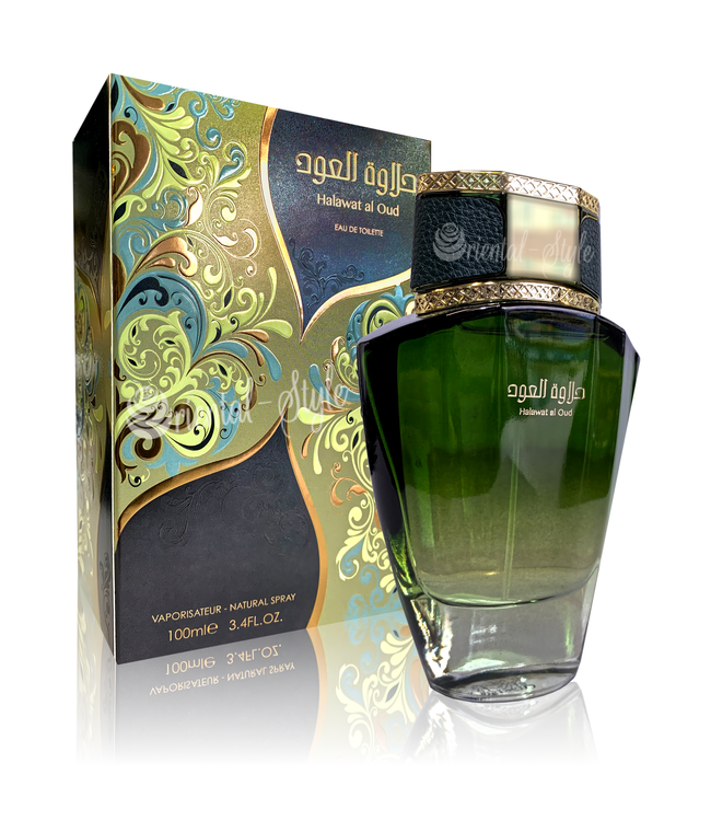 Swiss Arabian Halawat Al Oud Eau de Toilette 100ml Swiss Arabian Perfume Spray